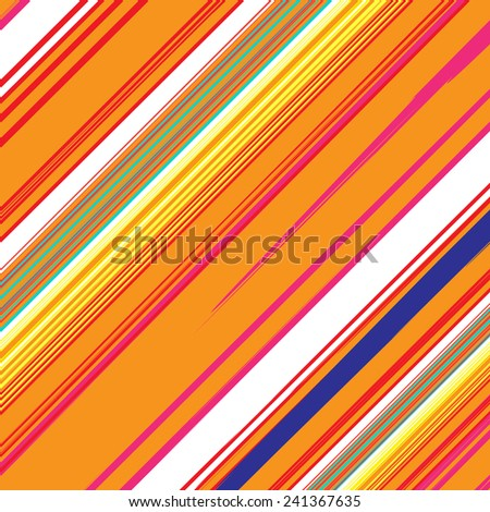 Striped colorful texture.Grunge line brush illustration background.