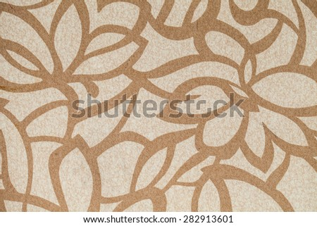 striped fabric as background - stock photo