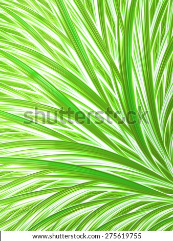 Striped lime green and white abstract background  - stock photo