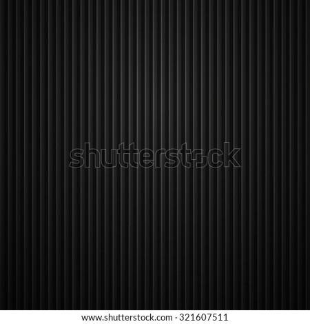 Striped metallic texture. - stock photo