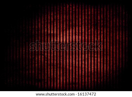 Striped red black background - stock photo
