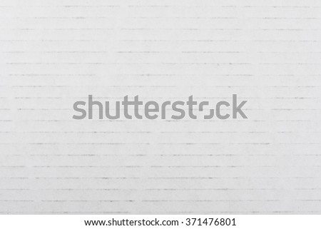 Striped white paper background - stock photo