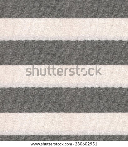 Striped wool texture / Grey knitting wool texture background / cashmere seamless texture  closeup - stock photo