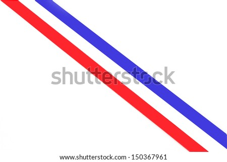 Stripes in colors of the dutch national flag