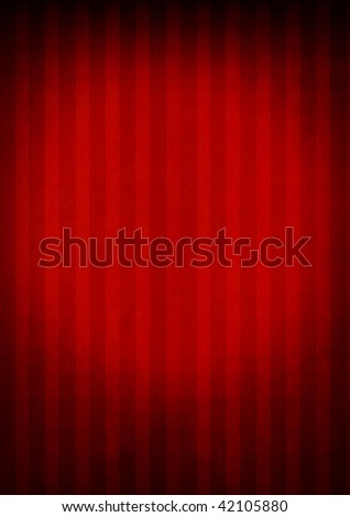 stripes pattern with various tones of red - stock photo