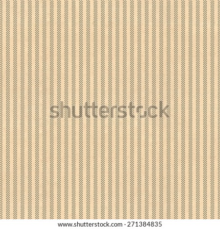 Stripped background with vintage paper and black ink screen dots - stock photo