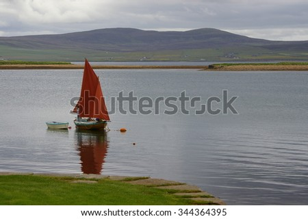 Stromness, Orkney, Scotland - stock photo