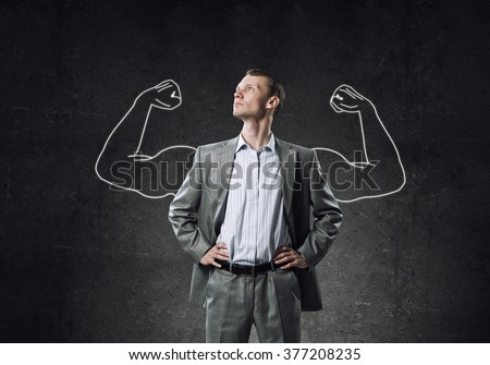Strong and powerful - stock photo