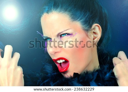 Strong Beauty - stock photo