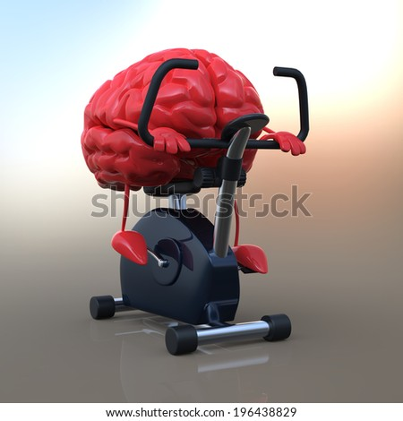 Strong brain - stock photo
