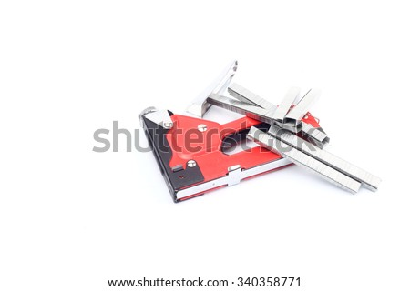 strong steel stapler clip pin tool and cartridge parts