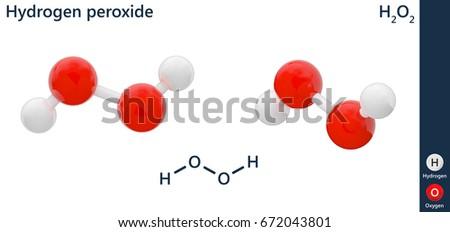 hydrogen peroxide molecule - Toha
