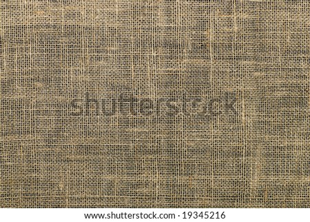structure of a burlap for art backgrounds - stock photo