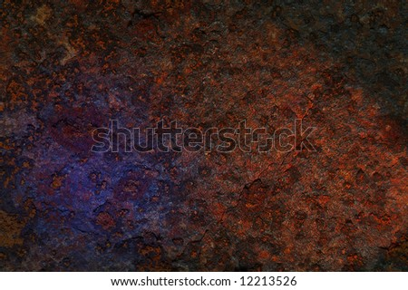 structure of rusty iron for background.