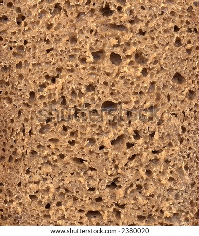 structure of rye bread