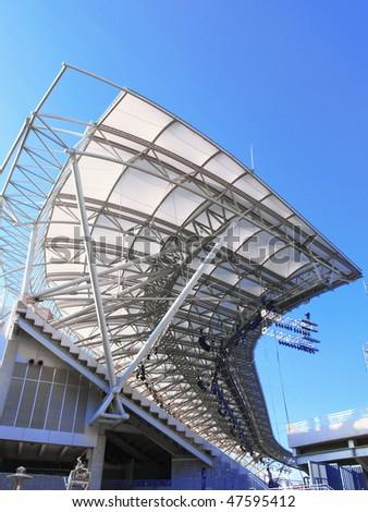 Structure of stadium - stock photo