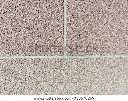 Stucco Wall Background - stock photo