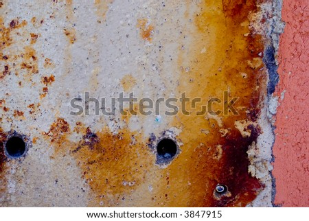 Stucco wall with texture - stock photo