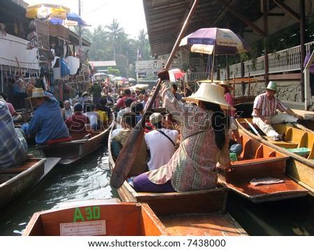 Stuck, Bangkok - stock photo