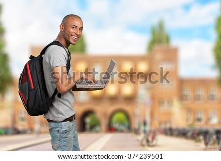Student. - stock photo