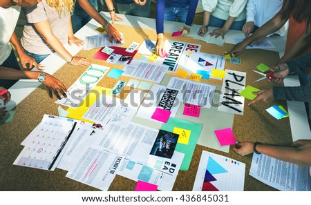 Student Classmate Friends Understanding Study Concept - stock photo