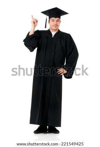 Student guy - stock photo