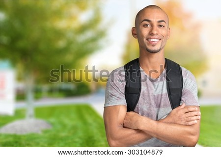 Student, High School Student, Back to School. - stock photo