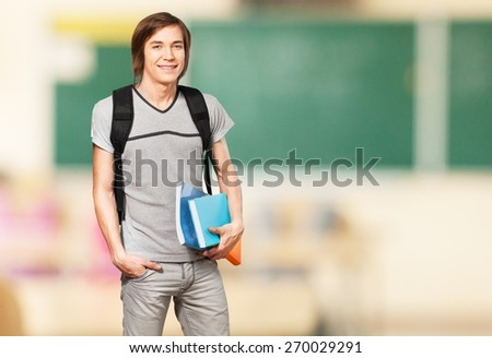 Student. Male Student - stock photo