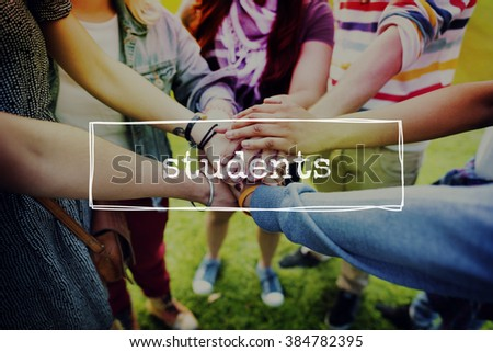 Student School Learning Intern Education Concept - stock photo