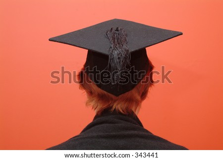 Student with mortar board 2