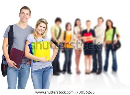 students - stock photo