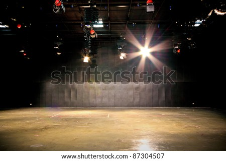 Studio. - stock photo