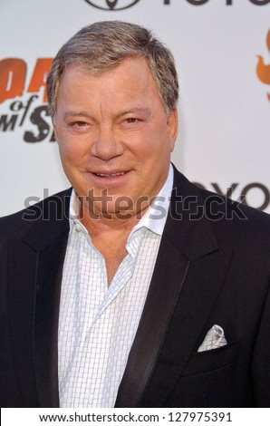 "STUDIO CITY, CA - AUGUST 13: William Shatner at ""Comedy Central's Roast of William Shatner"" August 13, 2006 in CBS Studio Center, Studio City, CA."