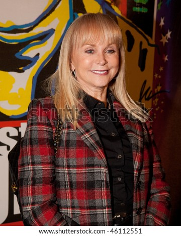 STUDIO CITY, CA - JAN 28: Jackie DeShannon attends John Lennon last concert Just Imagine starring Tim Piper as John Lennon on January 28, 2009 in Studio City, California. - stock photo