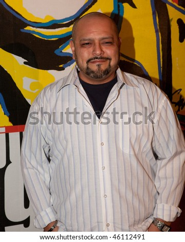 STUDIO CITY, CA - JAN 28: Rolando Molina attends John Lennon last concert Just Imagine starring Tim Piper as John Lennon on January 28, 2009 in Studio City, California. - stock photo