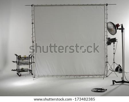 studio photography - stock photo
