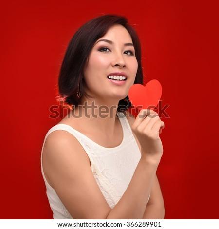 Erotic heartbeat womans