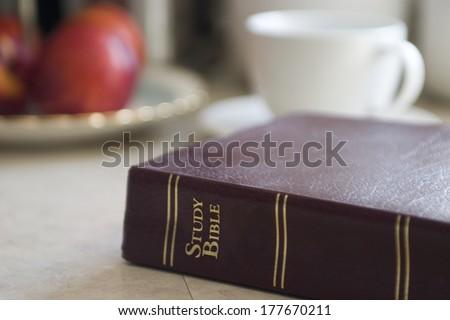 Study Bible - stock photo