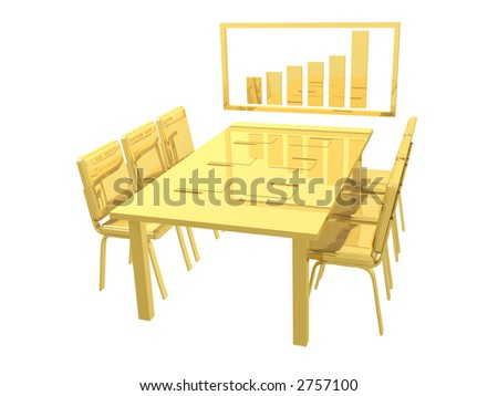 Study for carrying out of assembly on planning business - stock photo