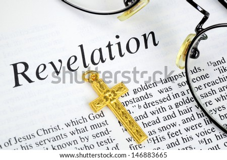 Study the Bible concept of religion and faith - stock photo