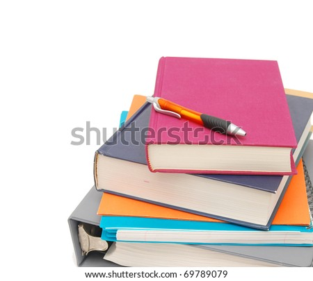 studying exams in school - stock photo