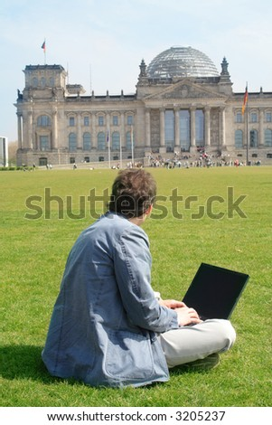 Studying in Berlin - stock photo