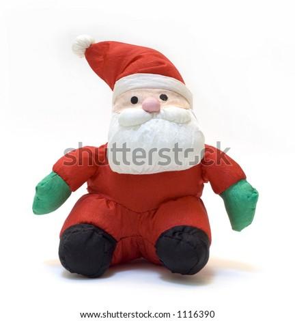 stuffed cloth santa claus doll - Stuffed Santa Claus