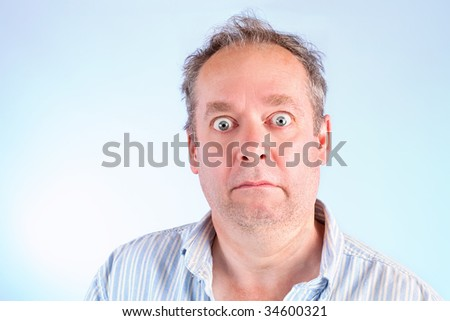 Stunned and Speechless - stock photo