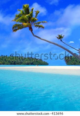 Stunning Lagoon - stock photo