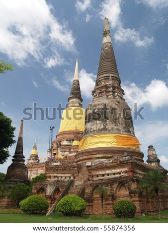 Stupa in thailand