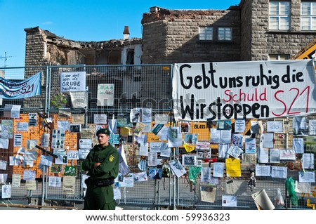 a history of the s21 project in stuttgart Stuttgart's train station, hamburg's  a history of political  bulldozers can finally dig in after opponents of the stuttgart 21 rail project suffered.