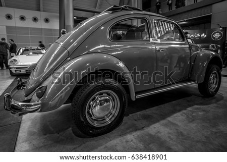 retro automobile black rear view stock images royalty. Black Bedroom Furniture Sets. Home Design Ideas