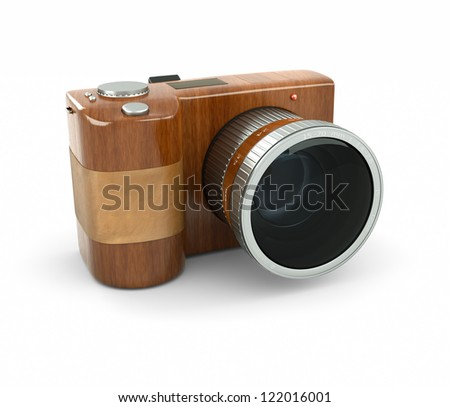 style, fashion and photography - stock photo
