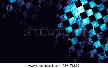Stylish abstract background with iridescent highlights, topics close to racing and speed - stock photo